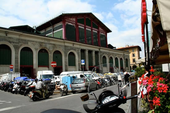 MERCATO Centrale in the San Lorenzo neighborhood in Florence.